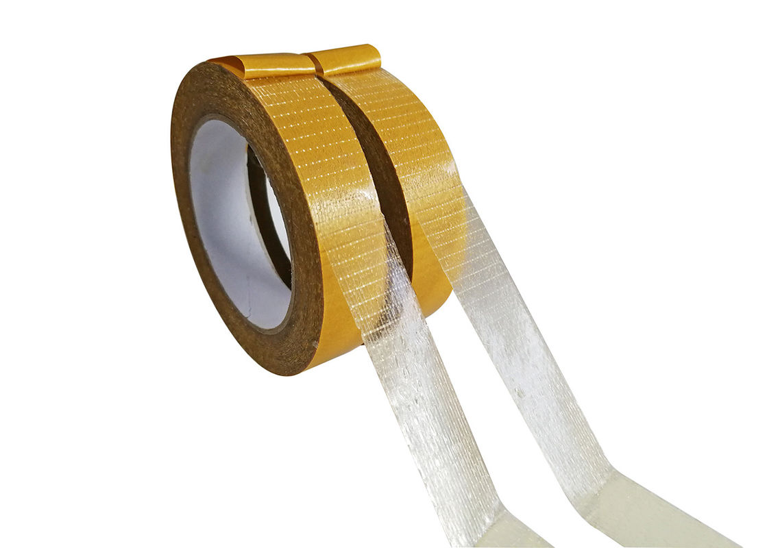1 Inch Width Fiberglass Self Adhesive Mesh Tape For PU Sealing Strip And Firestrip