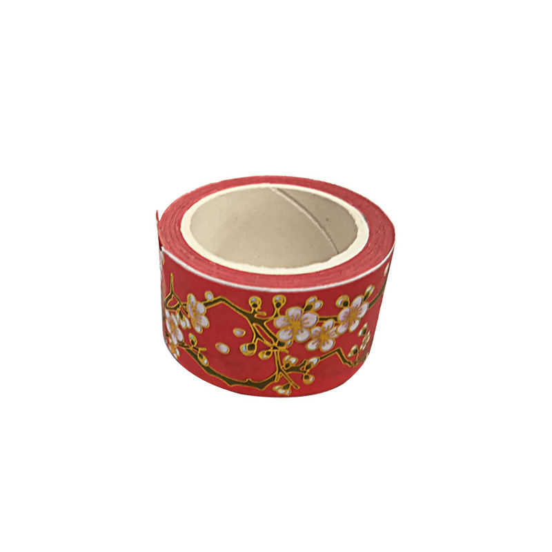 Gift Box Package Custom Gold Foil Washi Paper Tape